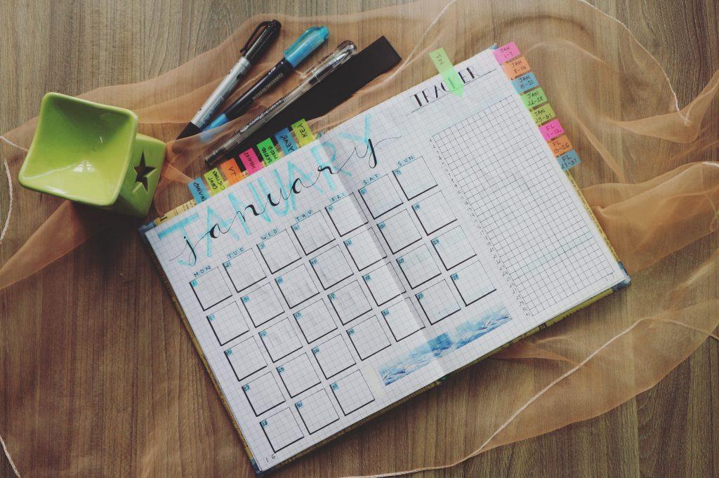 year calendar ireland 2020